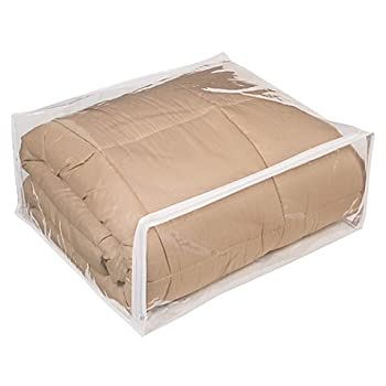 Fba Clear Vinyl Zippered Storage Bags 24x20x11 Inch Set of 5