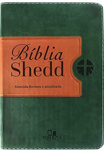 Bíblia Shedd - Verde e Marrom - Capa nova com acabamento luxo