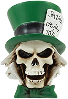Ebros The Mad Hatter Skull Statue 3
