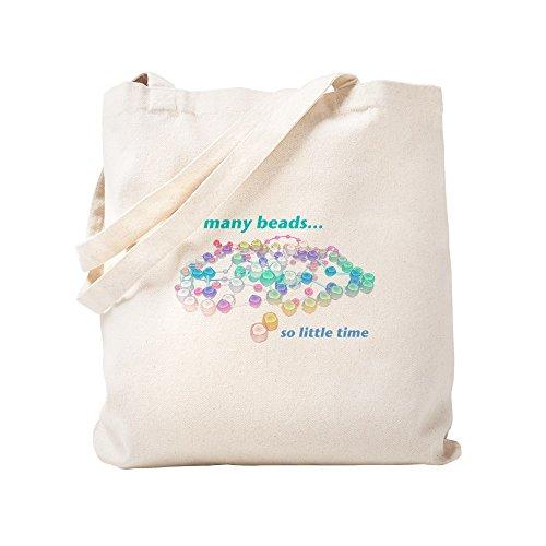 CafePress–So viele Perlen–Leinwand Natur Tasche, Reinigungstuch Einkaufstasche Tote S khaki