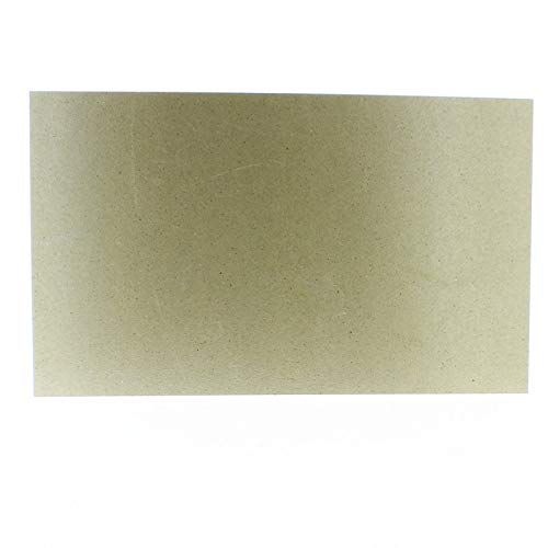 Plaque mica universelle 300x500 MICA49IS001 pour Micro-ondes BLUESKY, CARREFOUR HOME, DAEWOO, FAR, PANASONIC, SAMSUNG, SELECLINE, SHARP, TOSHIBA, WHIRLPOOL