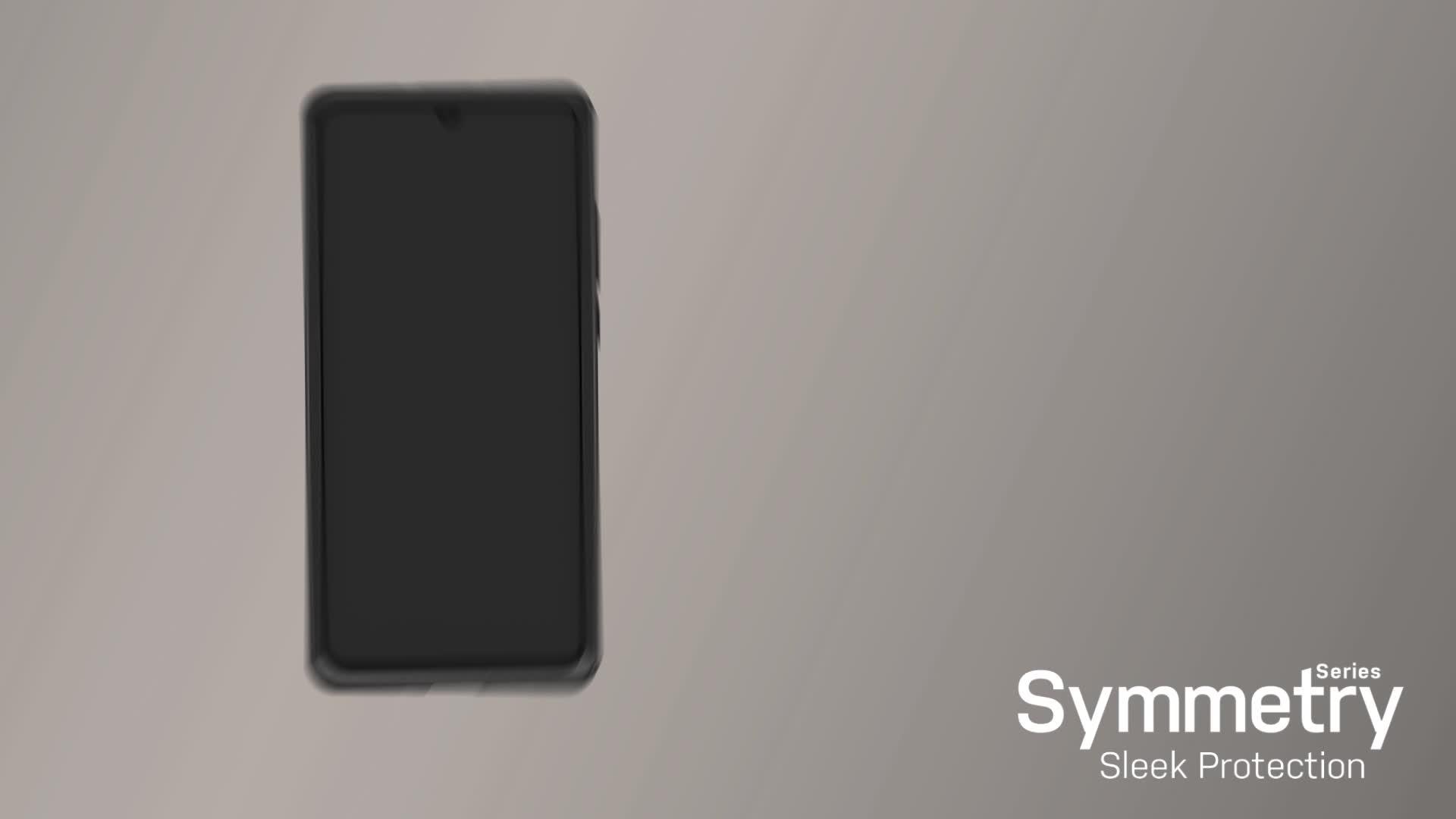 Otterbox Symmetry Für Huawei P30 Schwarz Elektronik