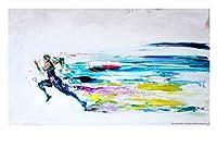 ジクレーポスター 山下良平【Sprinter live paint 2012】(A3ノビサイズ)