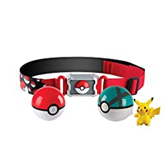 POKEMON TRAINER – Turn into a Pokémon trainer with this Pokemon clip n go belt as it can hold up to 6 Poké Balls. Additional Poke Balls and figures are sold separately GOTTA CATCH'EM ALL – The Poke Ball pops open with the push of a button, holds one ...