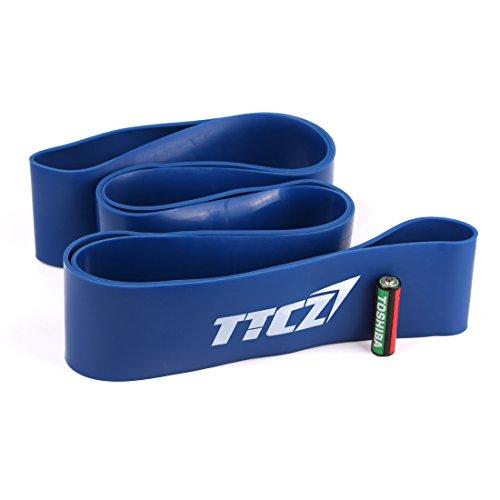 Andux Zone Rendimiento Potencia Band, Pull-up Bandas de Resistencia para Crossfit, Gimnasia, Power-elevación TLD-12 (azul (50-120lbs))
