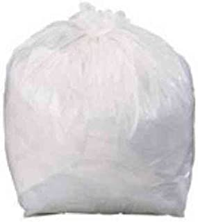 Pack of 500 CleaningSupplies4U CICS450 Clear Square Bin Liners Heavy Duty