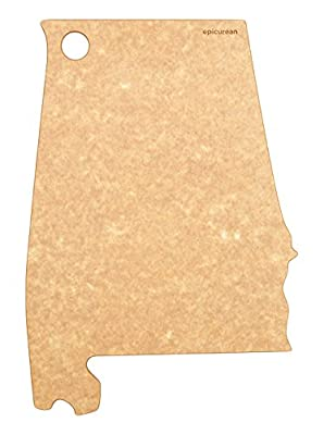 Epicurean State of Alabama Cutting and Serving Board