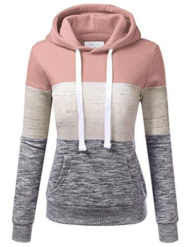 SotRong Sudadera con capucha para mujer, de manga larga, con capucha, con bolsillo, informal, cálida, larga, para mujeres, niñas, adolescentes