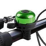 Paliston Fahrradklingel Aluminum Fahrradklingel für Erwachsene Kinder Jungen Mädchen Stil 1 Grün