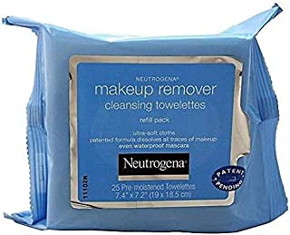 Neutrogena Make-up Remover Cleansing Towelettes Refill Pack 25 ea