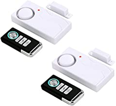 HENDUN Wireless Door Alarm with Remote, Windows Open Alarms,Home Security Sensor, Pool Alarm for Kids Safety, Prevent Robbery (2 Pack)