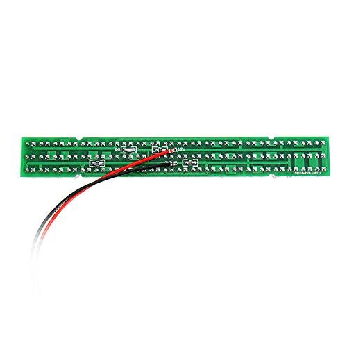 HITSAN 66pcs Black IR LEDs 940nm Infrared Illuminator IR LED Board with F5mm CCTV 60 Degree Invisible
