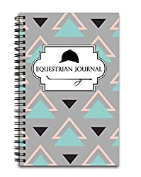 Equestrian Journal: Track Your Horseback Riding Lessons, Progress, and Goals - 100 Page Spiral Horse Notebook on Amazon