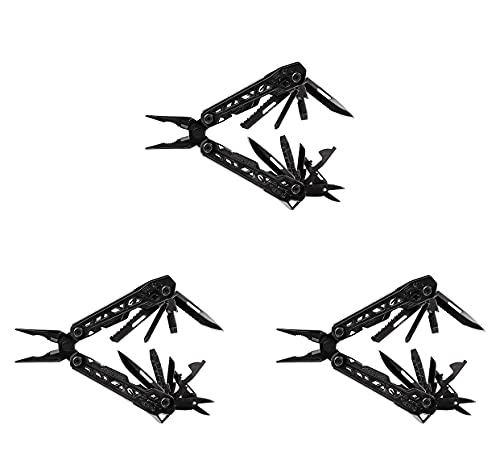 Gerber Gear Truss Multi-Tool, Black (Three Pack)