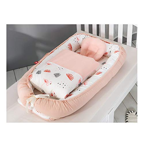 Mattresses Children's Bionic Bed Children's Room Cradle Bed Adult Bedroom Bed Bed Children's Non-rolling Changing Mat Quilt Set (Color : F, Size : 94 * 48cm)