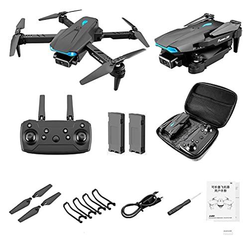 Lilon Faltbare Drohne S89Pro 4K HD Dual Kamera 2.4G WiFi FPV Echtzeitübertragung Professionelle Drohnenhöhenerhaltung Weitwinkel RC Quadcopter