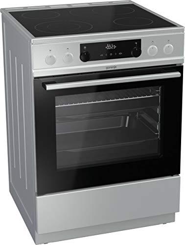 Gorenje EC 6352 XPA Standherd/versenkbare Knebel/Dynamisches Kühlgebläse (DC+)/ TouchControl-Sensorbedienung/Anti-Fingerprint Beschichtung/A