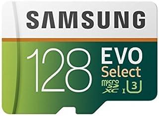 Samsung 128GB 100MB/s (U3) MicroSDXC EVO Select Memory Card with Adapter (MB-ME128GA/AM) [並行輸入品]