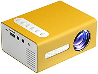 Portable Mini Projector LED Video Projector T300 Supports 1080P for Kids Gift Children Present, Home TV Computer, Laptop M...
