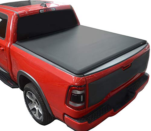 KSCPRO Truck Bed Tonneau Covers Soft Roll Up Fits 2009-2021 Ford F-150 6.5 ft...