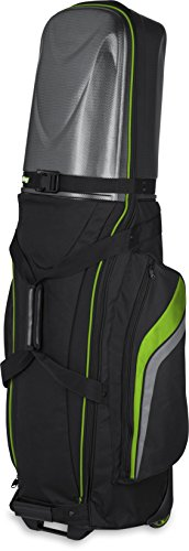 Bag Boy Golf T-10 Hard Top Travel Cover (Black/Lime/Charcoal, )