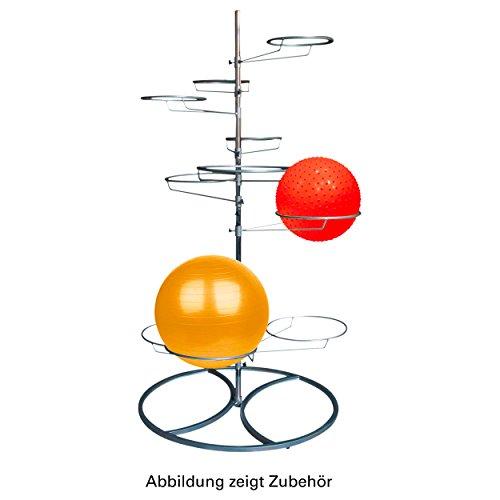 Tunturi Gymnastikballständer, Silber, 190 cm, 14TUSFU132