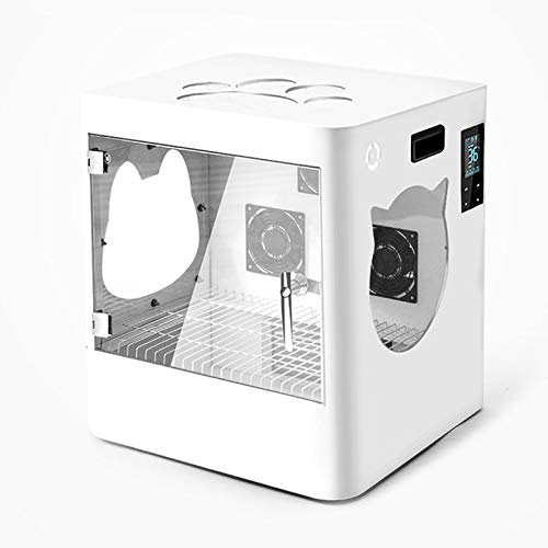 CSDY-Caja De Secado para Mascotas, Soplador De Belleza Profesional, Secador De Pelo para Perros, Secador De Pelo De Alta Potencia para Perros Pequeños Y Gatos