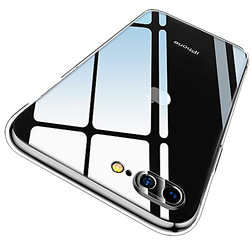 Ruayia Coque iPhone 7 Plus, Coque iPhone 8 Plus, Transparente Ultra Fin Silicone Housse iPhone 7 Plus, Protection Anti-Rayures TPU Souple Cover iPhone 8 Plus/iPhone 7 Plus- 5.5 Pouces- Transparent