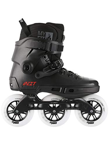 PS Next Core 110 Skates Black Size 6.0-7.0 (38-39)