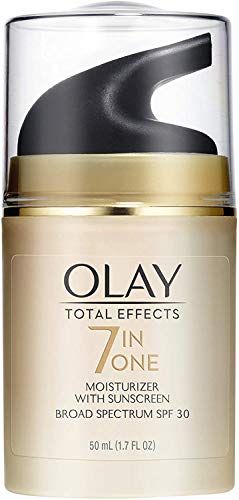 Olay Total Effects 7 in one, Anti-Aging Moisturizer With SPF 30, 1.7 Fluid Ounce by P&G