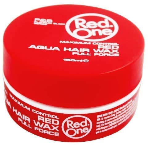 Cire Cheveux Redone Aqua Wax Full Force RED Rouge 150ml