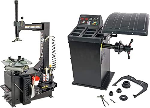 "Reifenmontiermaschine Set Wuchtmaschine - Start/Stop Funktion Reifenwuchtmaschine 10-24\"", Reifenmontiermaschine 10\'\' - 18\'\'"