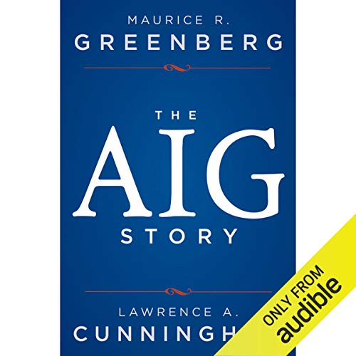 The AIG Story audiobook cover art