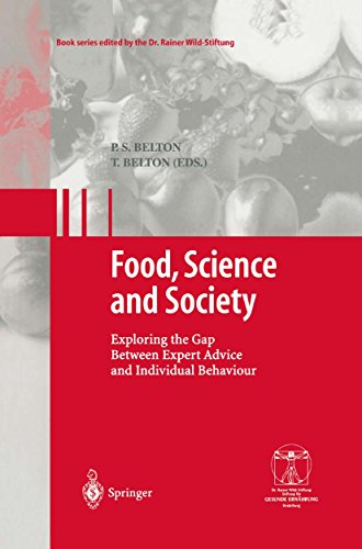 Food, Science and Society: Exploring the Gap Between Expert Advice and Individual Behaviour (Gesunde Ernährung Healthy Nutrition) (English Edition)