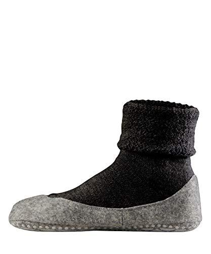 FALKE Damen Cosyshoe W HP Hausschuh-Socken, Blickdicht, Grau (Anthracite Melange 3099), 39-40