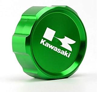 Kawasaki//Fit For // Fit For Color : Gold Z750 Z 750 2010 2011 2012 2013 2014 // Aluminio De La Motocicleta Cilindro Trasero Freno De Combustible Tapa del Tanque De L/íquidos Tapa del Dep/ósito