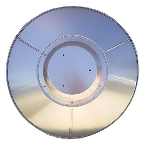 Patio Heater Heat Reflector Shield, Replacement Dome Top for Hiland Tall Outdoor Heaters (3 Hole Mount)