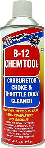 B-12 Chemtool Carburetor, Choke & Throttle Body Cleaner with Extension Tube [VOC Compliant In All 50 States]