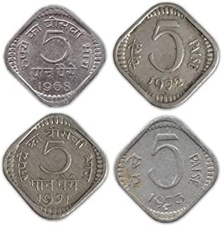 Five Paise Mix Coin (4 Coins)