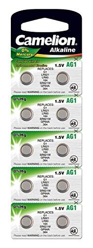 Batterie Camelion Alkaline AG1 (10 St.) [Elektronik]
