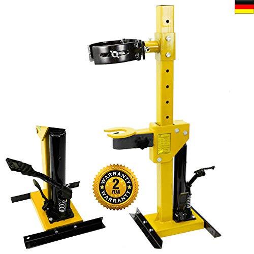 DIFU Hydraulischer Federspanner, 1T Hydraulischer Federspanner Federbeinspanner KFZ Werkzeug Federbeine Spanner (2200 lbs) 1000 KG