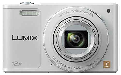 Panasonic LUMIX DMC-SZ10EG-W Style-Kompakt Digitalkamera (12x opt. Zoom, 2,7 Zoll LCD-Display um 180° schwenkbar,WiFi, HD-Videos, Bildstabilisator) weiß