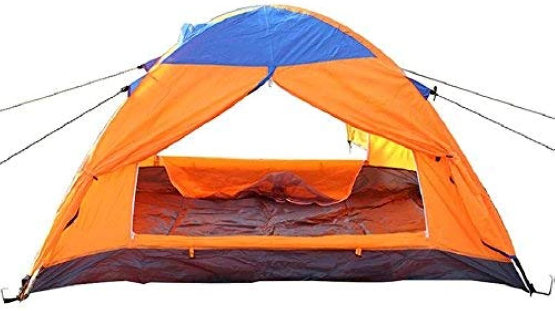 GCC Guo Outdoor-Produkte Geeignet für 2 Personen mit Aluminium-Pole Zelte, Zelte, Zelte, Camping-Reise-Zelte, Oxford Tuch Wasserdicht Sonnencreme, Tragbare Zelte B07GFFYWT8  Ausreichende Versorgung c0702e