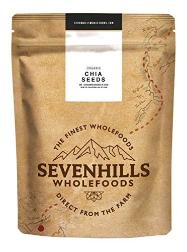Sevenhills Wholefoods Graines De Chia Cru Bio 1kg