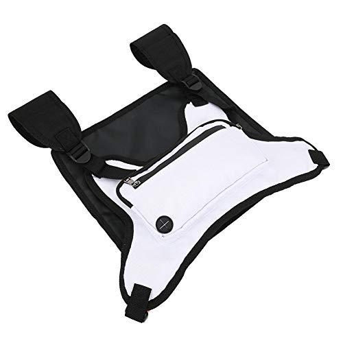 Redxiao 【𝐁𝐥𝐚𝐜𝐤 𝐅𝐫𝐢𝐝𝐚𝒚 𝐃𝐞𝐚𝐥𝐬】 Weiß/Schwarz Sport Freizeitrucksack, Brustrucksack, Geschenke für Männer oder Frauen Klettern Wandern oder Radfahren(White)