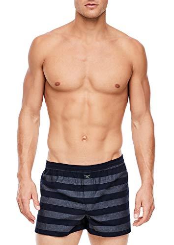 s.Oliver Herren 172.11.899.18.239.2042062 Boxershorts, Dark Blue Stripes, 8