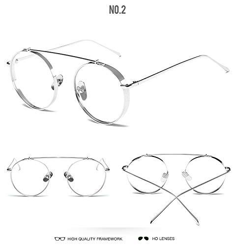 2016 New White Screen Sonnenbrille Herren Radbrille Damen Trend Silber Brille