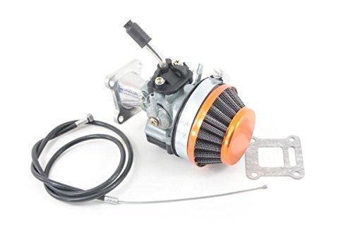Nitro Motors Pocketbike Tuning Vergaser Typ 1 inklusive Luftfilter und Gasbautenzug Ersatzteil