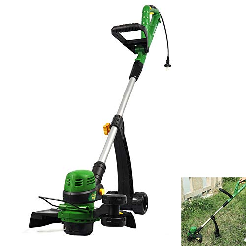 Lowest Price! Cacoffay Electric Small Corded Trimmer 800W High Power Lawn Mower 120° Flexible Rotat...