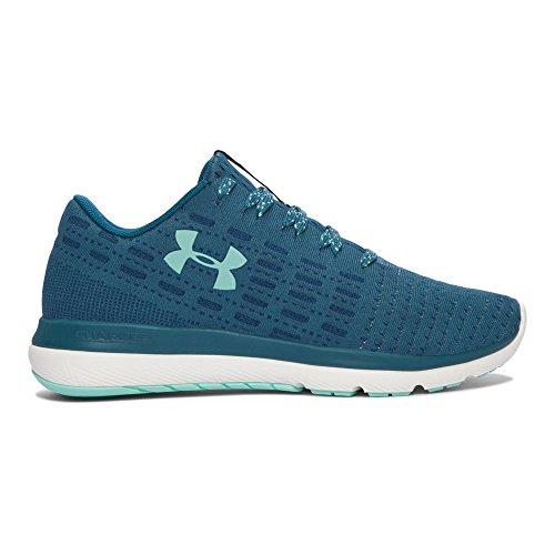 Under Armour Women's UA Threadborne Slingflex Marlin Blue/White/Crystal Athletic Shoe